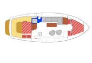 RiverCruise 35 - Motorboat rental - Ottenhome Heeg